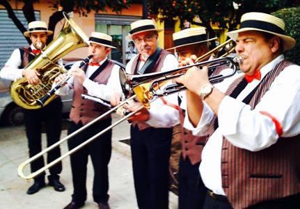 Rochi Dixieland Band 24 de Agosto en Tavernes Blanques