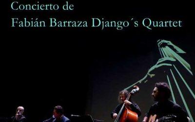 Viernes 3 de Febrero Concierto Fabián Barraza