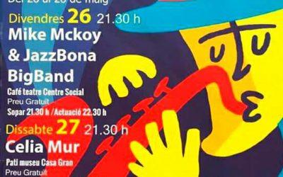 IV Muestra de jazz con Mike Mckoy & la jazzbona big band – 26 de mayo en La Pobla de Vallbona – 22:45 horas