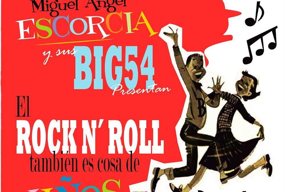Actuación El Rock & Roll también es cosa de niños y de padres – Viernes 8 de septiembre a las 18:00 horas – Parque Maldonado Riba-roja de Túria