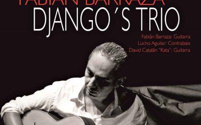 Actuación Fabián Barraza Django's Trio – Domingo 3 de diciembre a las 12:00 horas – Casa de la Cultura (Castellón)