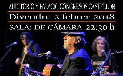 Concierto EG&M- 2 de Febrero en el auditorio y Palacio de Congresos de Castellón