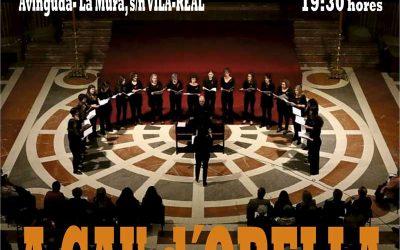 A CAU d' ORELLA  , Cor de Dones.  Auditori Municipal Music Rafael Beltrán a las 19:30 horas