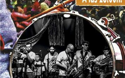 Actuación 40 Funk Brass Band – Sábado 23 de junio a las 23:00 horas – Plaza Dr. Cajal (Cheste)