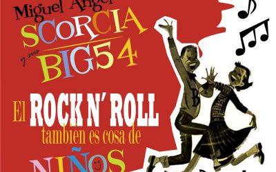 Actuación El Rock & Roll también es cosa de niños y de padres! – Martes 12 de junio a las 11:00 horas – Parque Municipal, La Pobla de Vallbona.