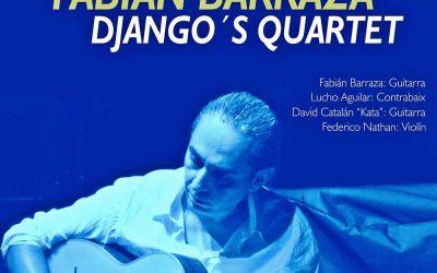 Fabián Barraza Django's Quartet en L'Hort de Manus a las 23h