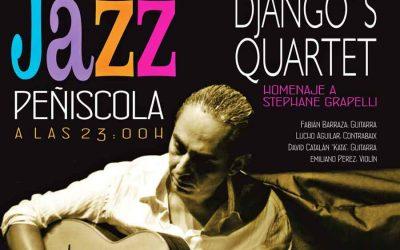 Fabián Barraza Django's Quartet protagonistas del XV Festival Internacional de Peñiscola