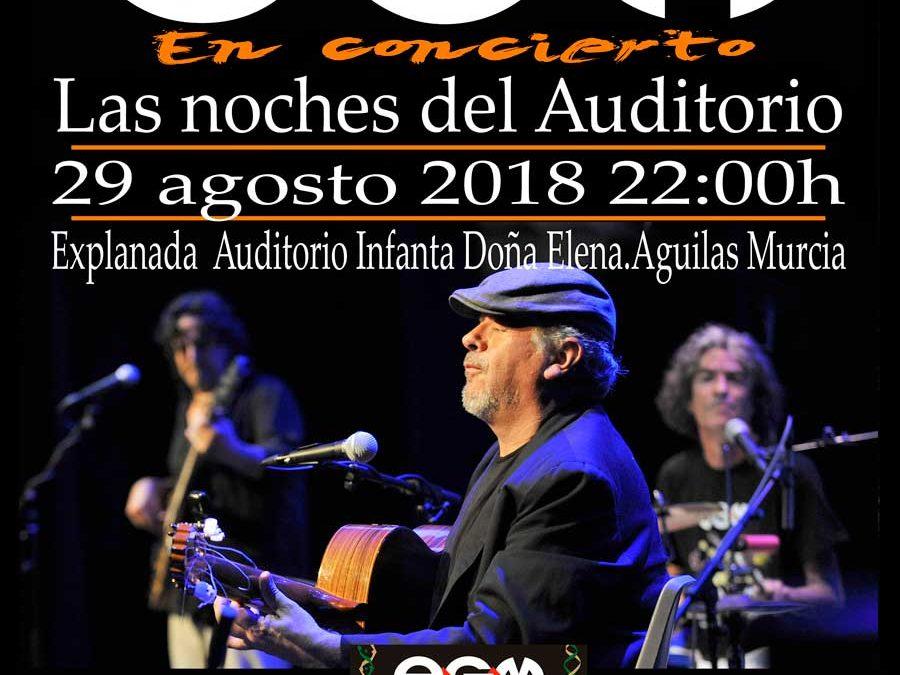 EGM en concierto – Las noches del Auditorio – Murcia