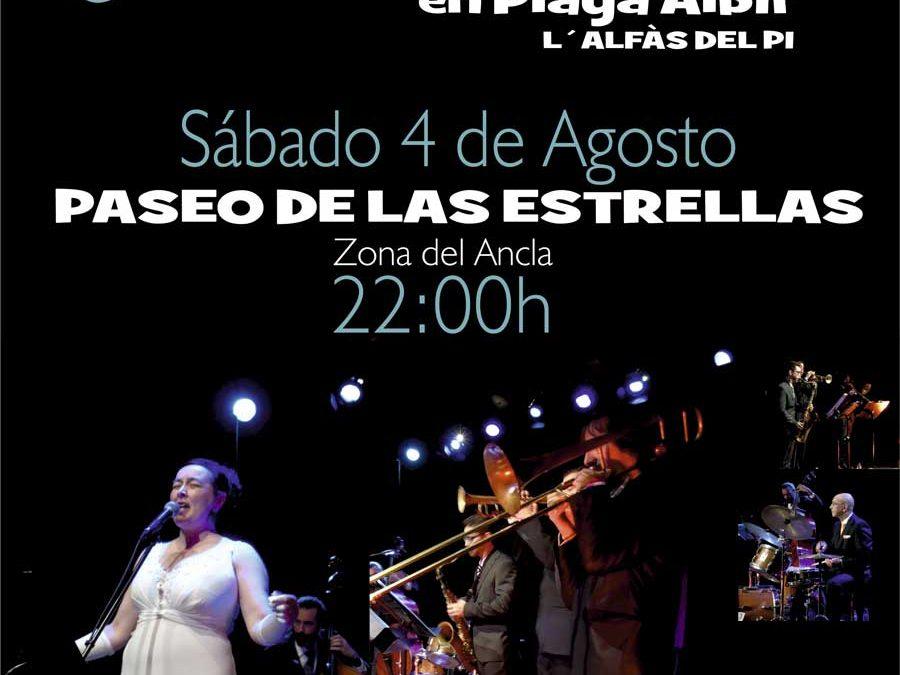 Actuación Las Vegas Jazz Band –Sábado 4 de agosto – PASEO DE LAS ESTRELLAS en Playa Albir (l'Alfàs del Pi).