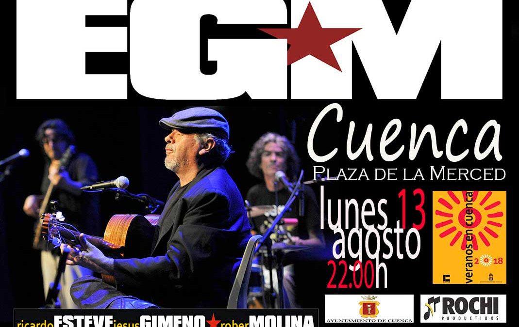 Actuación EGM – Lunes 13 de agosto – Plaza de la Merced en Cuenca