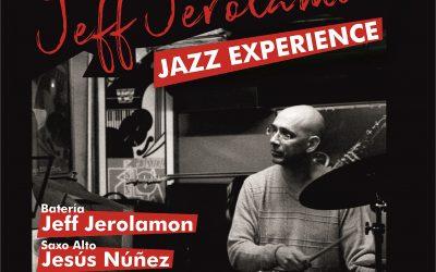 Jeff Jerolamon Jazz Experience – miércoles 24 de octubre en la Sala Matisse.
