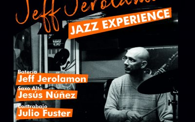Jeff Jerolamon Jazz Experience – sábado 9 de febrero en Alzira