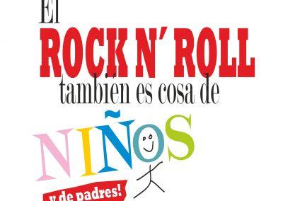 El rock & roll también es cosa de niños