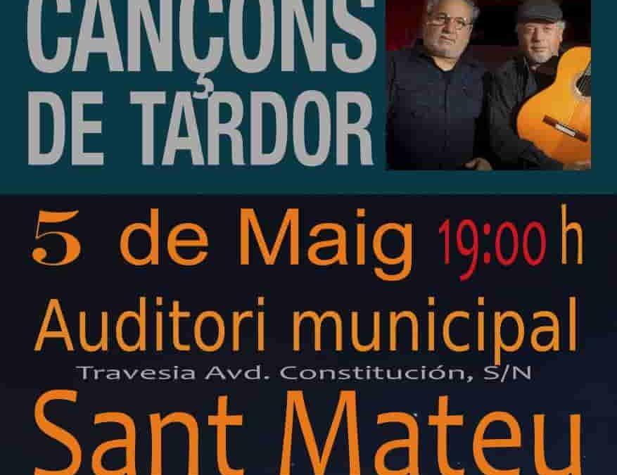 Josep APAricio i Ricardo Esteve en Sant Mateo