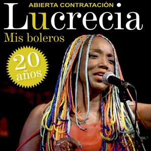 Lucrecia – Mis boleros, 20 años
