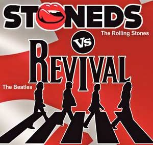 La gran batalla de bandas (The Beatles vs The Rolling Stones)