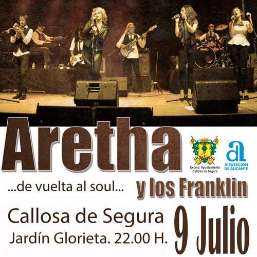 ARETHA y los Franklin, el 9 de Julio 2020