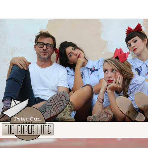 Peter Gun & The paper Hats – 16 julio – La Pobla de Vallbona