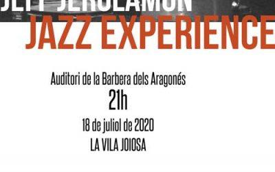 Jeff Jerolamon Jazz Experience – 18 julio – La Vila Joiosa