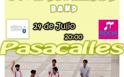 Jove Dixeland Band – 24  de Julio – Peñiscola