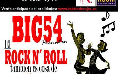 El Rock & Roll es cosa de niños ..y de padres el domingo, 13 de Diciembre en el teatro Rojas de Toledo