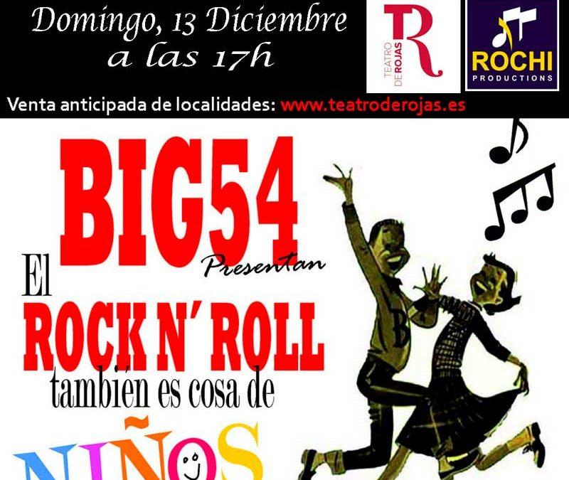 El Rock & Roll es cosa de niños ..y de padres el domingo, 28 de Marzo en el Teatro Rojas de Toledo