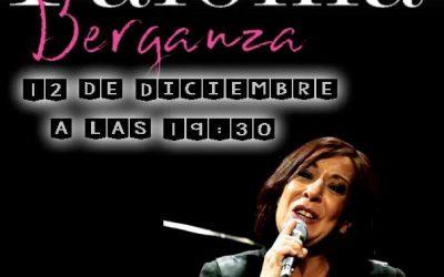 Paloma Berganza el Sábado 12 de Diciembre en Teatre Auditori la Vila Joiosa