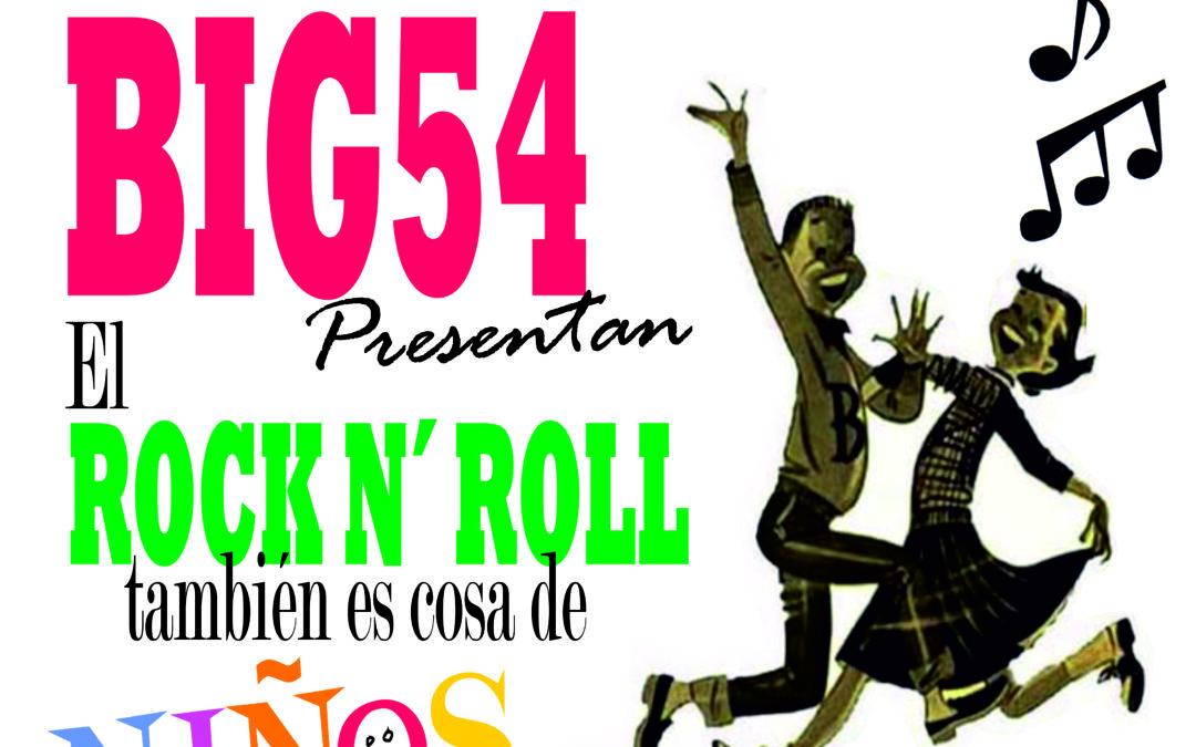El Rock & Roll es cosa de niños ..y de padres el jueves 3 de junio en Villena