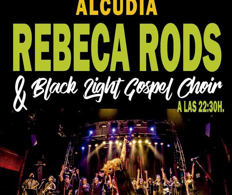Rebeca Rods & BLACK LIGHT GOSPEL CHOIR el 2 de Julio en L'Hort de Manus de Alcudia