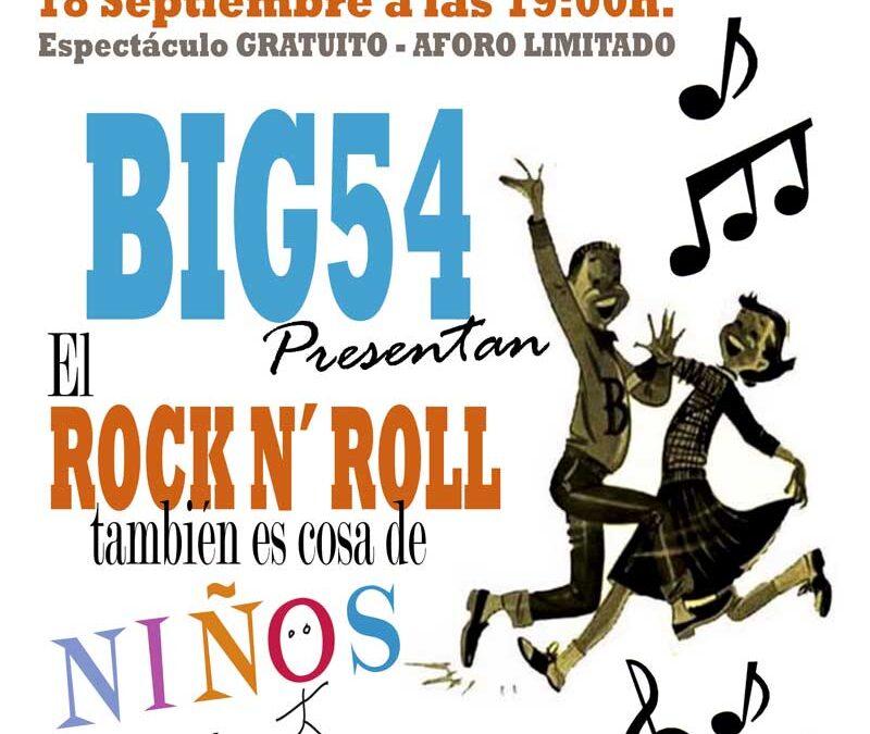 El Rock & Roll es cosa de niños ..y de padres el 18 de septiembre en Calp a las 19:00h