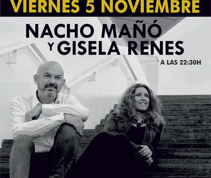 Nacho Mañó y Gisela Renes En Benetusser el 5 de Noviembre